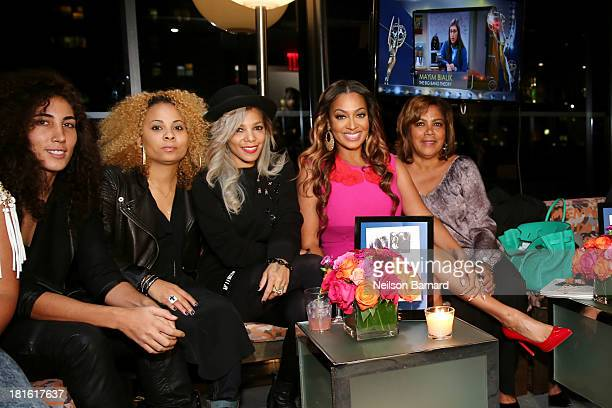 Po Johnson TV personality La La Anthony and Carmen Surillo attend exclusive Red Carpet Awards Viewing Party to help launch new Glade campaign at The...