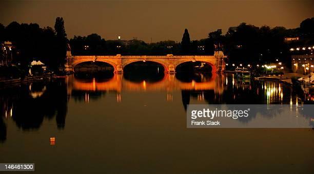 Po River at dusk
