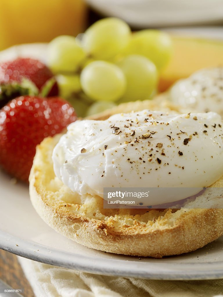 Poached Eggs : Stock Photo