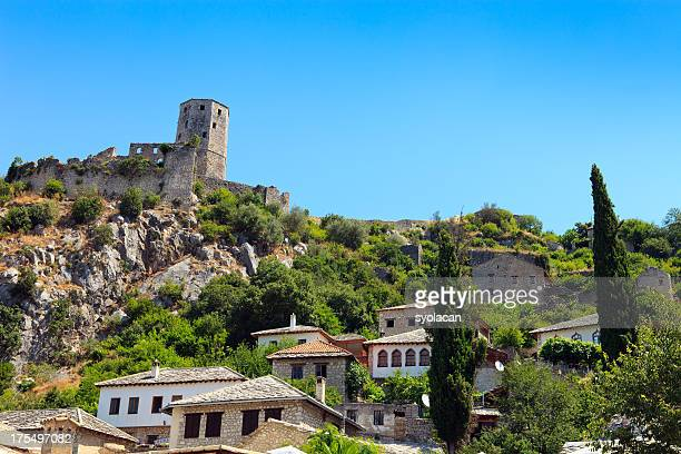 pocitelj village, bosnia and herzegovina - syolacan stock pictures, royalty-free photos & images