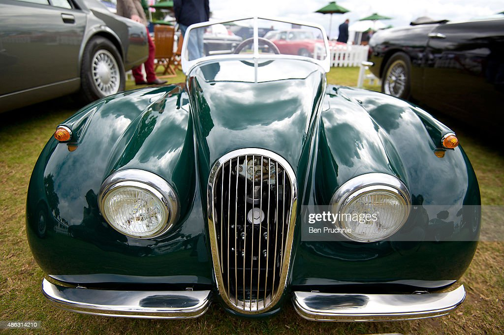 Luxury Cars Line-up At Salon Prive Event Photos and Images | Getty ...