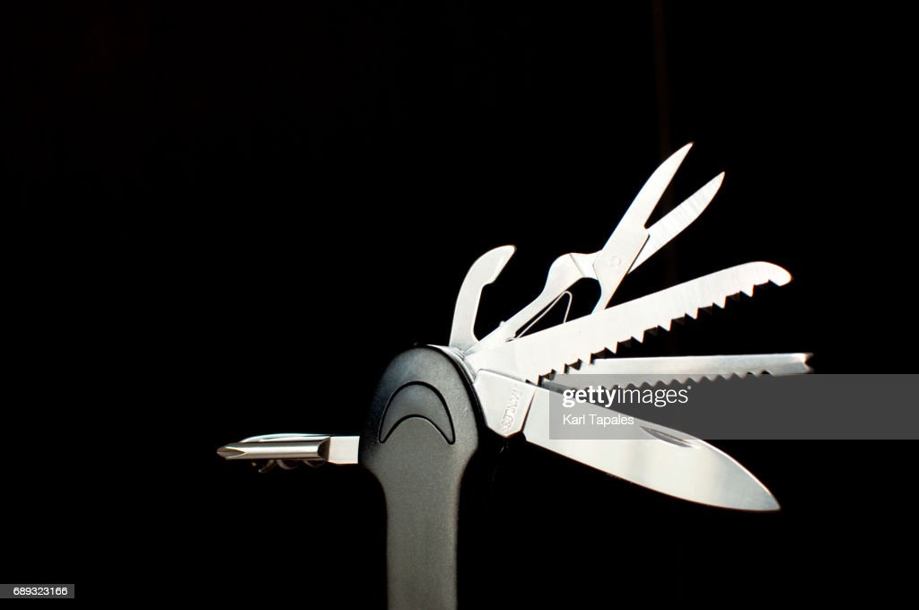 Pocket knife : Stock Photo