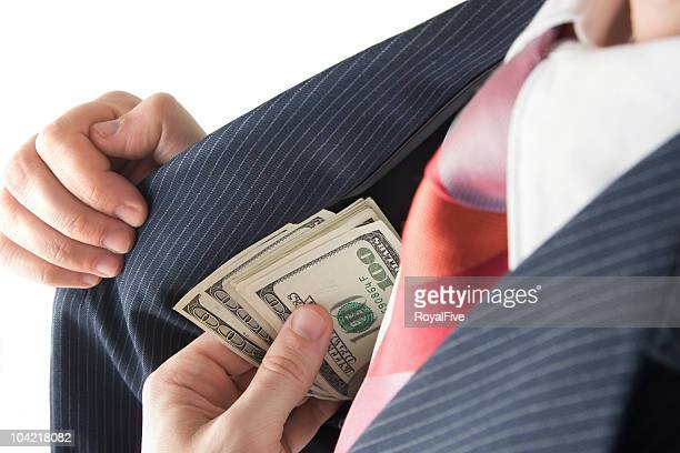 Pocketing Some Cash