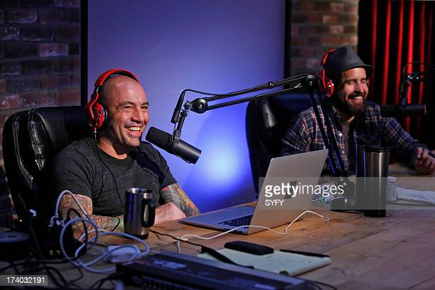 """Podcast"""" -- Pictured: Joe Rogan, Duncan Trussell --"""