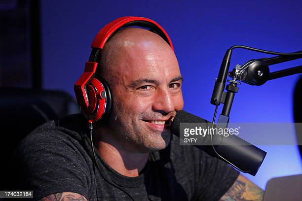 EVERYTHING 'Podcast' Pictured Joe Rogan