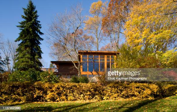 podell house - frank lloyd wright stock pictures, royalty-free photos & images