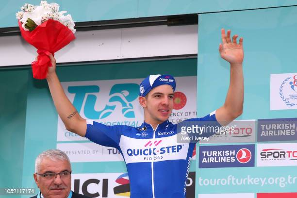 Podium / Alvaro Jose Hodeg Chagui of Colombia and Team Quick Step Floors / Celebration / 2nd Best Sprinter / during the54th Presidential Cycling Tour...