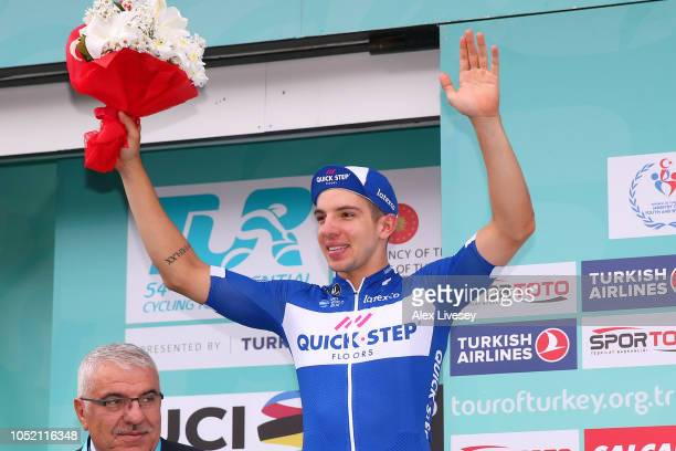 Podium / Alvaro Jose Hodeg Chagui of Colombia and Team Quick Step Floors / Celebration / during the54th Presidential Cycling Tour Of Turkey Stage 6 a...