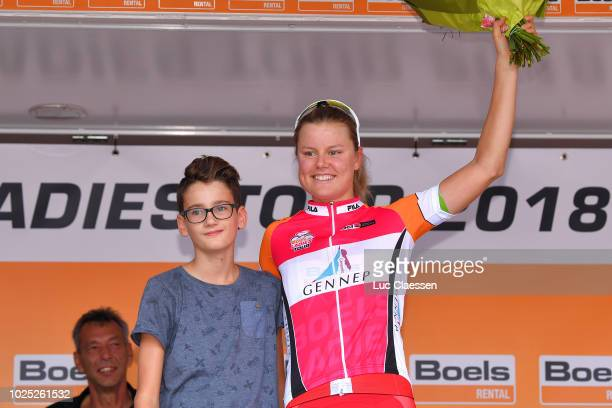 Podium / Amalie Dideriksen of Denmark and Team Boels Dolmans Cycling Team Red Most Combative Rider / Celebration / during the 21st Boels Rental...