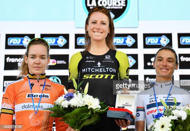 Podium / Annemiek van Vleuten of The Netherlands and Team MitcheltonScott / Anna Van Der Breggen of The Netherlands and Boels Dolmans Cycling Team /...