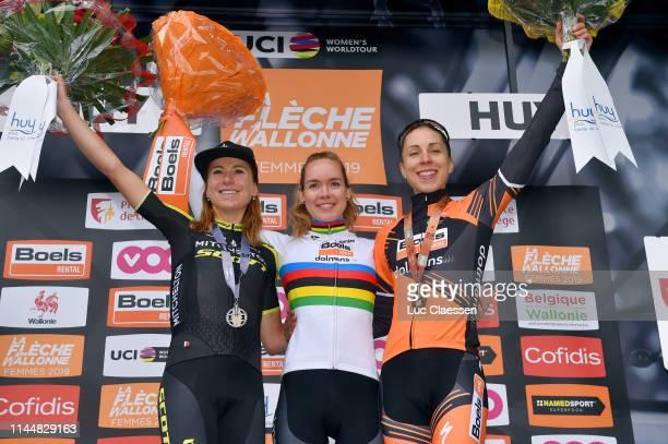 Podium / Annemiek van Vleuten of The Netherlands and Team MitcheltonScott Silver medal / Anna van der Breggen of The Netherlands and Boels Dolmans...