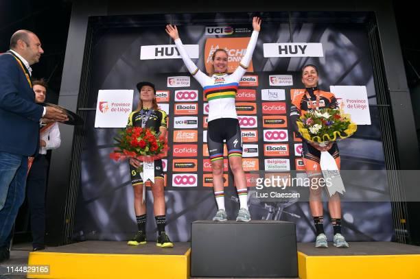 Podium / Annemiek van Vleuten of The Netherlands and Team Mitchelton-Scott Silver medal / Anna van der Breggen of The Netherlands and Boels Dolmans...