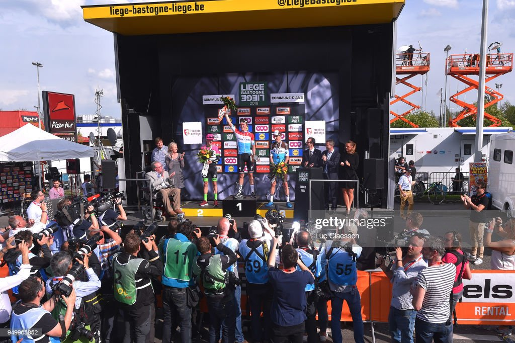 Cycling: 104th Liege-Bastogne-Liege 2018 / Men : ニュース写真