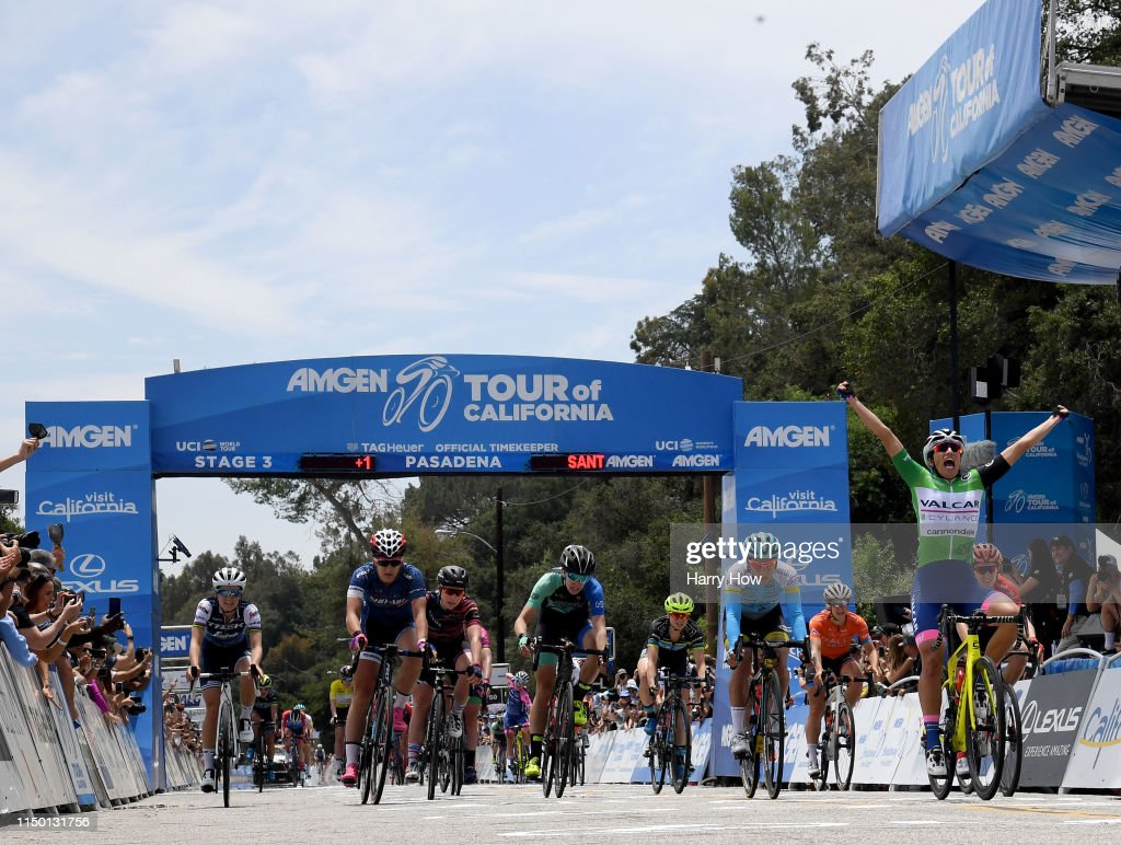 CA: Amgen Tour Of California Women's Race 2019 - Stage 3