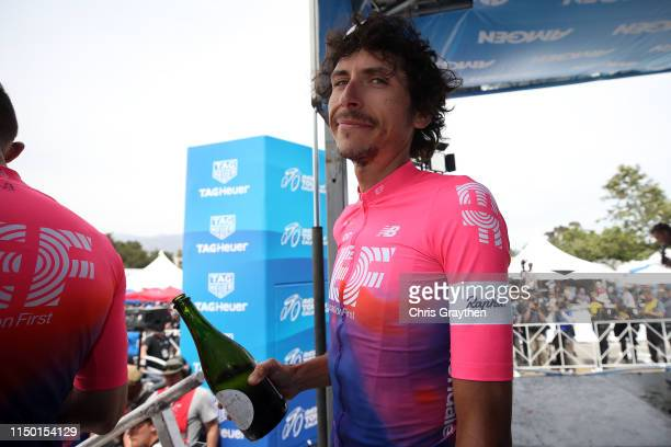 Podium / Celebration / Lachlan Morton of Australia and Team EF Education First / during the 14th Amgen Tour of California 2019, Stage 7 a 126km stage...