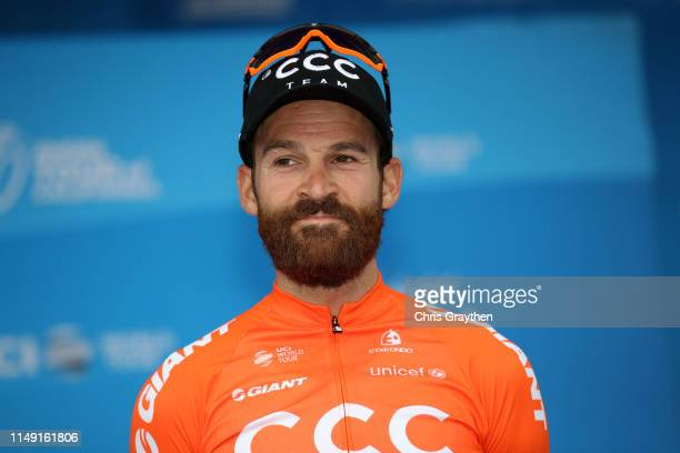 Podium / Celebration / third place Simon Geschke of Germany and CCC Team / during the 14th Amgen Tour of California 2019, Stage 3 a 208km stage from...