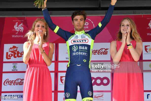 Podium / Christian Eiking Odd of Norway and Team Wanty Groupe Gobert / Celebration / during the 39th Tour Wallonie 2018, Stage 3 a 169,2km stage from...