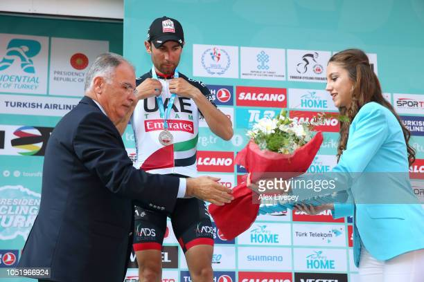 Podium / Diego Ulissi of Italy and UAE Team Emirates Silver Medal / Celebration / during the 54th Presidential Cycling Tour Of Turkey, Stage 4 a...