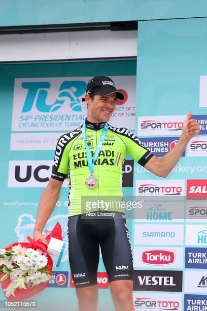 Podium / Eduard Prades Reverte of Spain and Team Euskadi Basque CountryMurias Gold Medal / Celebration / during the54th Presidential Cycling Tour Of...