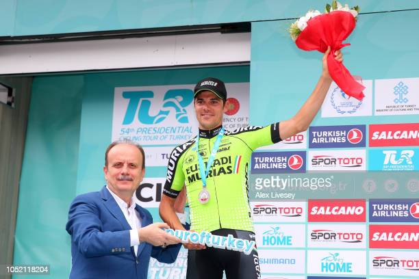 Podium / Eduard Prades Reverte of Spain and Team Euskadi Basque CountryMurias / Celebration / during the54th Presidential Cycling Tour Of Turkey...