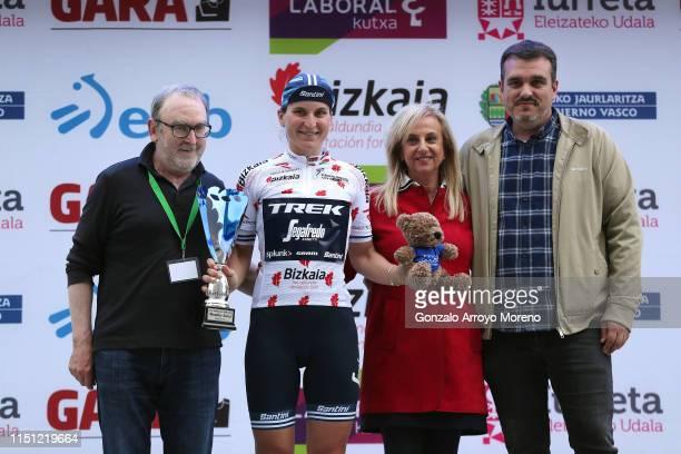 Podium / Elisa Longo Borghini of Italy and Team Trek Segafredo Polka Dot Mountain Jersey / Celebration / during the 32nd Women WT Emakumeen Bira 2019...