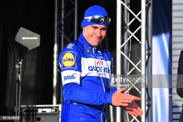 Podium / Fabio Jakobsen of Netherlands and Team Quick-Step Floors / Celebration / during the 73rd Nokere Koerse - Danilith Classic 2018 a 191,1 km...