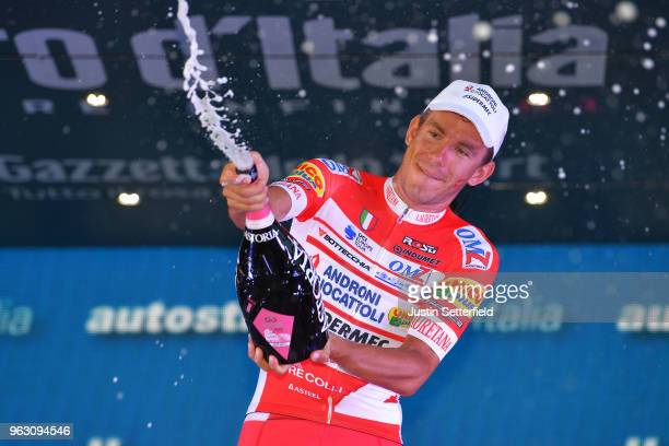Podium / Francesco Gavazzi of Italy and Team Androni Giocattoli-Sidermec / Celebration / Champagne / during the 101st Tour of Italy 2018, Stage 21 a...