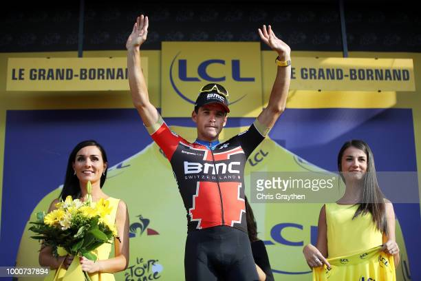 Podium / Greg Van Avermaet of Belgium and BMC Racing Team during the 105th Tour de France 2018 / Stage 10 a 1585km stage from Annecy to Le...