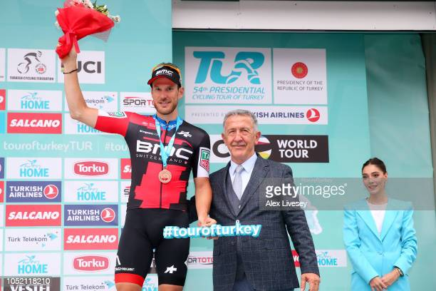 Podium / Jean Pierre Drucker of Luxembourg and BMC Racing Team / Celebration / during the54th Presidential Cycling Tour Of Turkey Stage 6 a 164km...