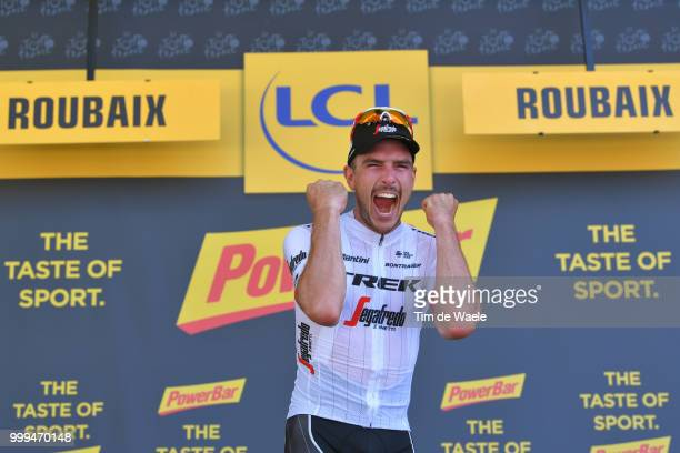 Podium / John Degenkolb of Germany and Team Trek Segafredo / Celebration / during the 105th Tour de France 2018 Stage 9 a 1565 stage from Arras...