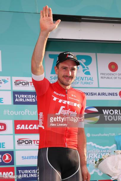 Podium / John Degenkolb of Germany and Team TrekSegafredo / Celebration / during the 54th Presidential Cycling Tour Of Turkey Stage 3 a 1327km stage...