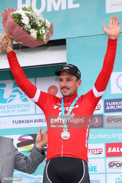 Podium / John Degenkolb of Germany and Team TrekSegafredo Silver Medal / Celebration / during the 54th Presidential Cycling Tour Of Turkey Stage 5 a...