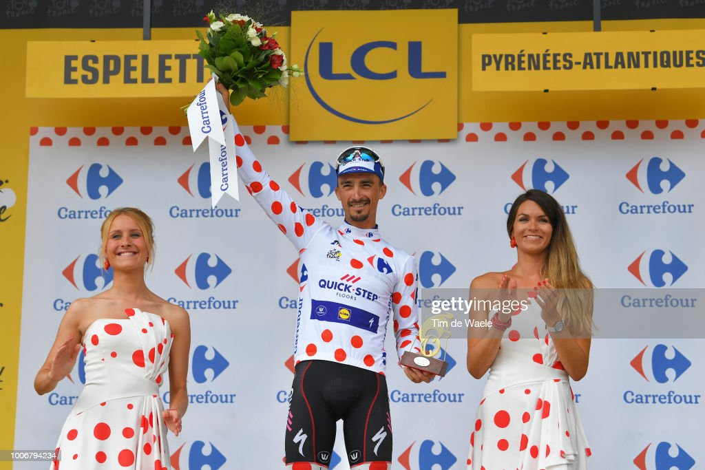 The competition for the Tour de France jerseys   Cyclist