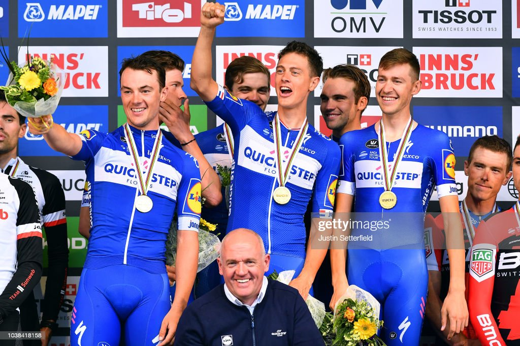 91st UCI Road World Championships 2018 - UCI Team Time Trial Men : ニュース写真