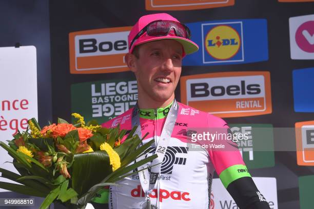 Podium / Michael Woods of Canada and Team EF Education First - Drapac P/B Cannondale / during the104th Liege-Bastogne-Liege 2018 a 258,5km race from...
