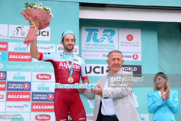 Podium / Nathan Haas of Australia and Team Katusha-Alpecin Silver Medal / Celebration / during the 54th Presidential Cycling Tour Of Turkey, Stage 5...