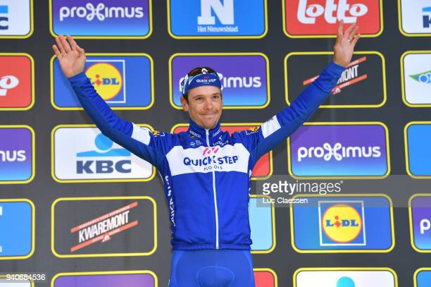 Podium / Philippe Gilbert of Belgium and Team Quickstep Floors / Celebration / during the 102nd Tour of Flanders 2018 - Ronde Van Vlaanderen a...