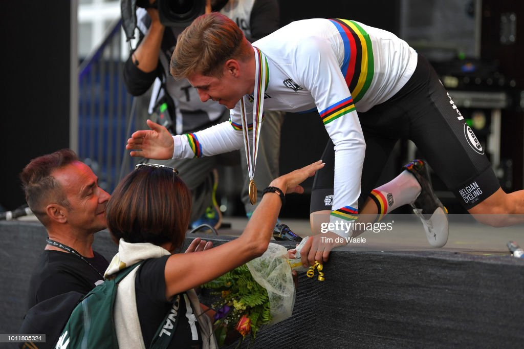 91st UCI Road World Championships 2018 - Men Juniors Road Race : ニュース写真