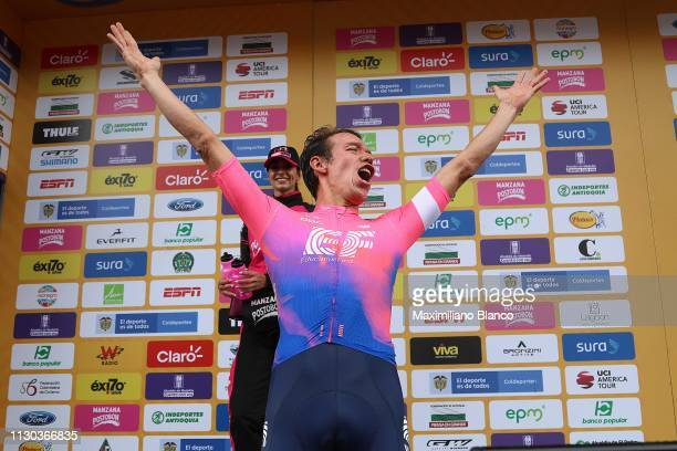 Podium / Rigoberto Urán of Colombia and EF Education First Pro Cycling Team / during the 2nd Tour of Colombia 2019 Stage 6 a 1738km stage from El...