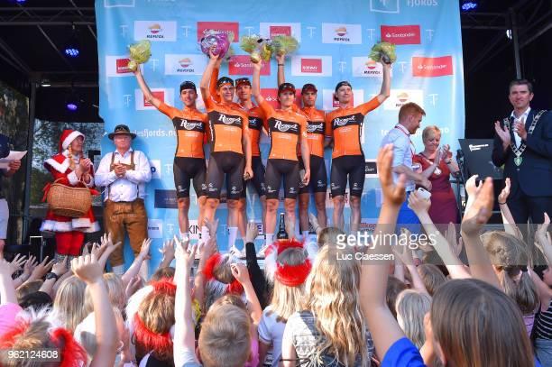 Podium / Robbert de Greef of The Netherlands / Floris Gerts of The Netherlands / Pim Ligthart of The Netherlands / Jeroen Meijers of The Netherlands...