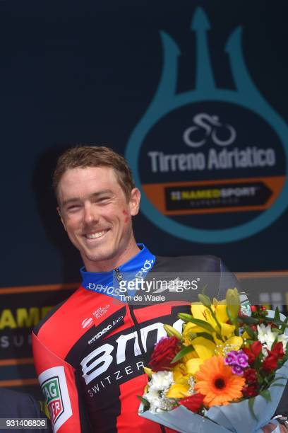 Podium / Rohan Dennis of Australia Celebration / during the 53rd TirrenoAdriatico 2018 Stage 7 a 105km Individual Time Trial stage in San Benedetto...