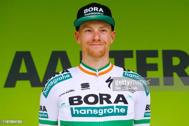 Podium / Sam Bennett of Ireland and Team Bora-Hansgrohe / Celebration / during the 15th Binck Bank Tour 2019, Stage 3 a 166,9km stage from Aalter to...