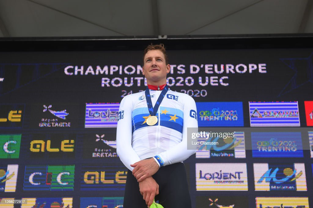 26th UEC Road European Championships 2020 - Men's Elite Individual Time Trial : ニュース写真