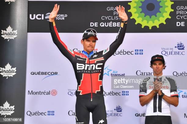 Podium / Van Avermaet of Belgium and BMC Racing Team / Michael Matthews of Australia and Team Sunweb / Celebration / during the 9th Grand Prix...