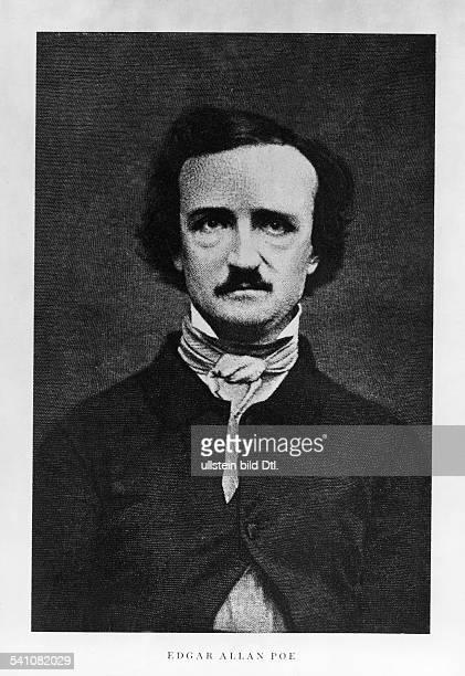 Poe Edgar Allan *1901180907101849 Schriftsteller USA Portrait undatiert