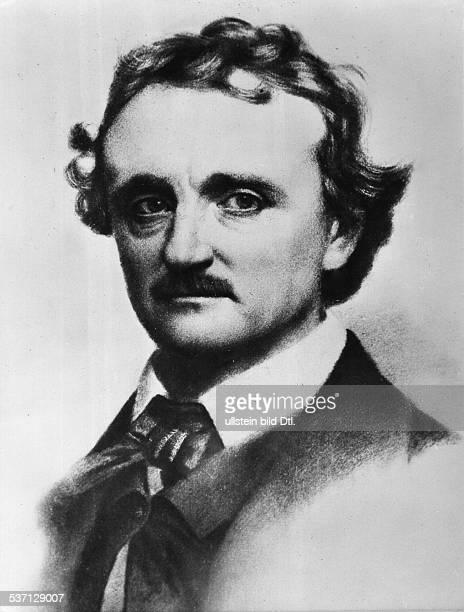 Poe Edgar Allan Schriftsteller USA Portrait undatiert identisch mit Bild
