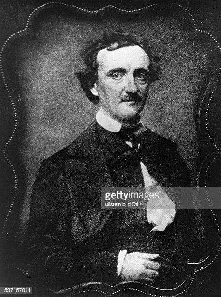 Poe Edgar Allan Schriftsteller USA Portrait undatiert