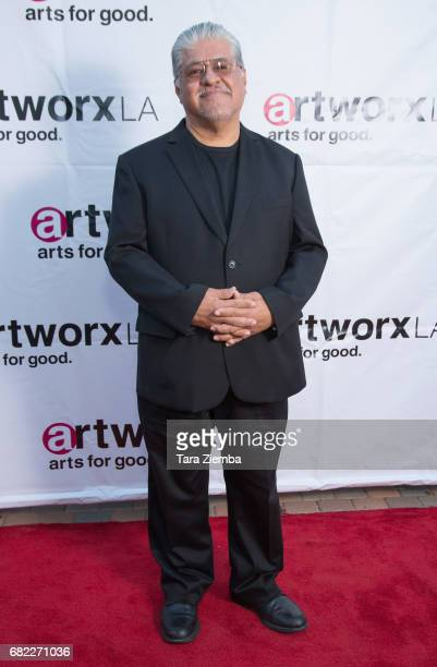 Poet and ARTWORXLA boardmember Luis Rodriguez attends ARTWORXLA's 25th Anniversary Gala 'An Evening Of Art' at Taglyan Cultural Complex on May 11...