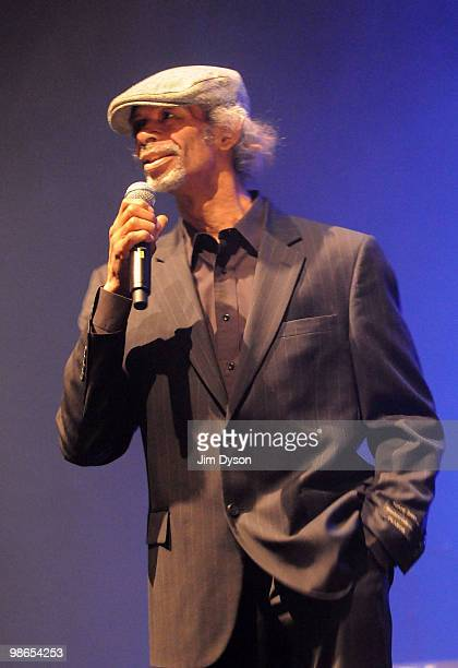 Poet And musician Gil Scott Heron performs live on stage at the Royal Festival Hall in support of his new album 'I'm New Here' on April 24 2010 in...