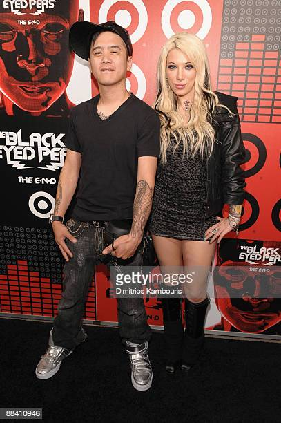 Poet and Reality TV star Daisy de la Hoya attend the official Black Eyed Peas album release party hosted by Target at The Griffin on June 10 2009 in...